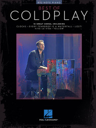 Best of Coldplay in Big-Note Piano