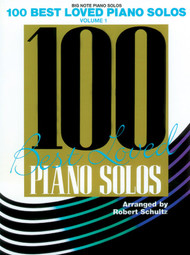 100 Best Loved Piano Solos Volume 1 in Big-Note Piano