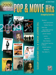 2009 Greatest Pop & Movie Hits in Big-Note Piano