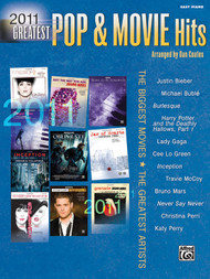 2011 Greatest Pop & Movie Hits for Beginning Piano Solo