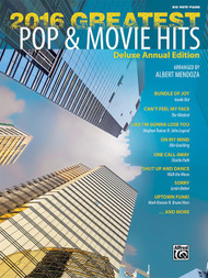 2016 Greatest Pop & Movie Hits in Big-Note Piano