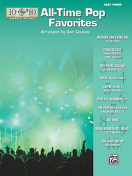 10 for 10 Sheet Music: All-Time Pop Favorites for Easy Piano