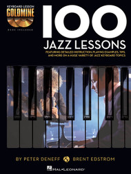 100 Jazz Lessons (Book/CD Set) for Intermediate to Advanced Piano/Keyboard