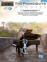 Hal Leonard Piano Play-Along Volume 131 - The Piano Guys: Wonders (with Audio Access) for Piano / Vocal / Guitar
