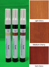 Cherry - A Set of Furniture Touch Up Markers System - 3 markers