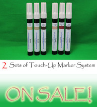 Two Sets of Furniture Touch Up Markers System - 6 markers
