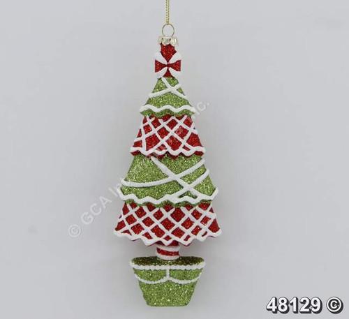 48129 7plastic christmas tree ornament - Plastic Christmas Tree