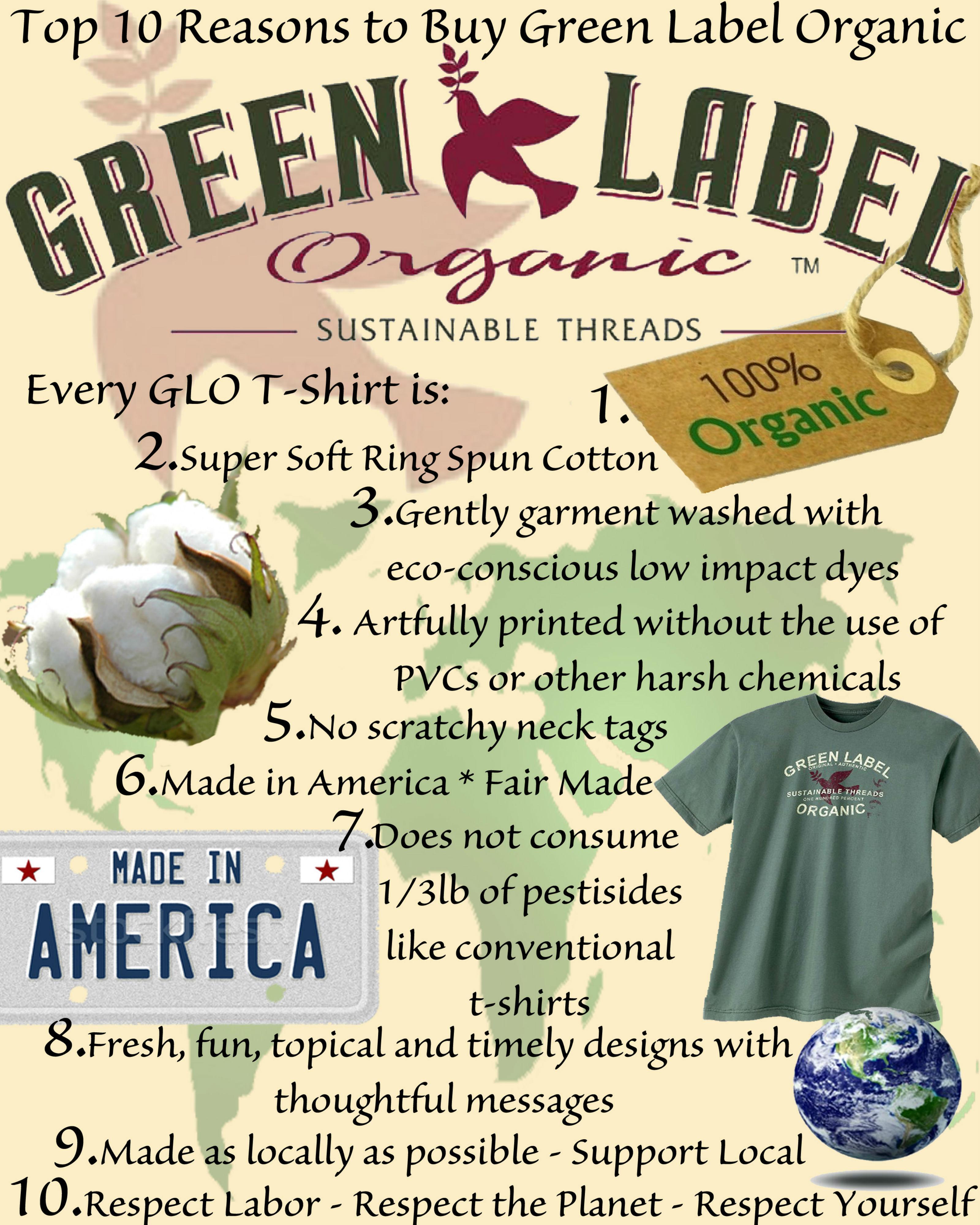 Top 10 Reasons to Buy Green Label Organic