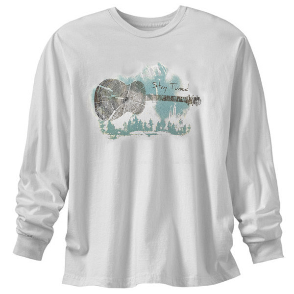 Oraganic Made in the USA Long Sleeve T-Shirt - Stay Tuned Tin Cup