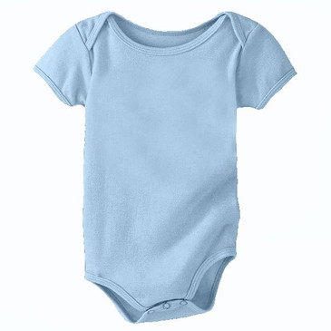 Organic Cotton Onesie - Blue Bird