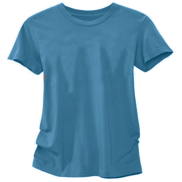Women's Organic Cotton T-Shirt Solid - Ocean