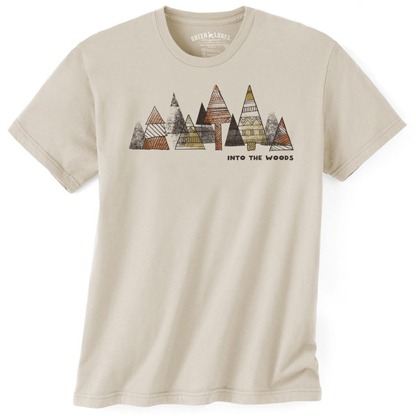 Men's Organic T-Shirt Into The Woods Wheat