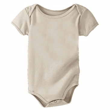 Solid Infant Onesie - Wheat - 6-12M