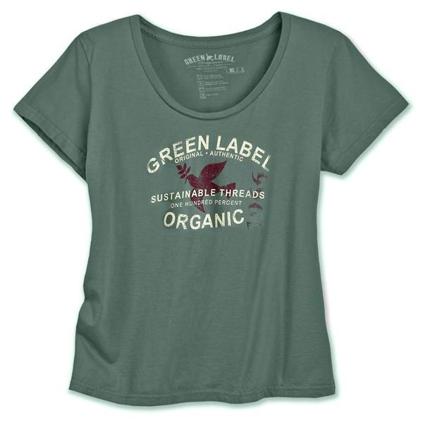 Women's Organic Classic Scoop - Authentic Willow