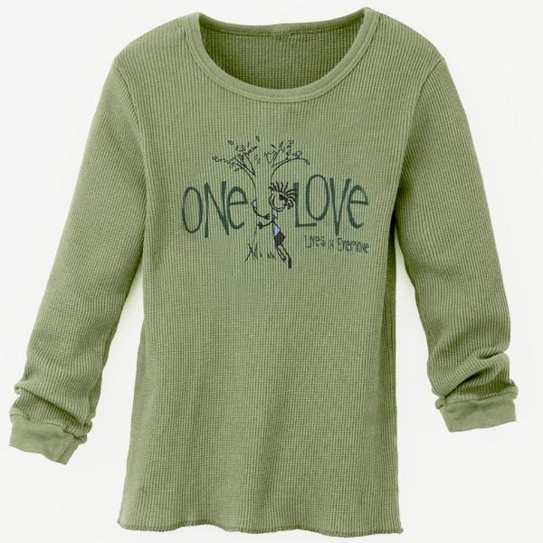 Toddler Thermal Ollie Tree Hugger Moss