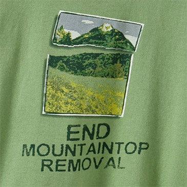 Men's Crew Mountain Top Moss