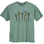 Men's T-Shirt Nature of Music Sea Green