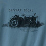 Men's Sustainable and Made in America T-Shirts - Support Local Blue Star