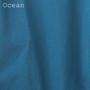 Men's Super Soft Organic Ringspun Long Sleeve Solid XXL Tees - Ocean
