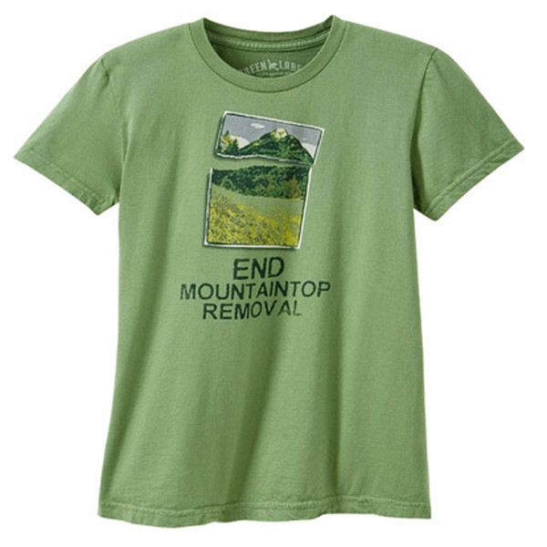 Women's Crew Mountain Top Moss