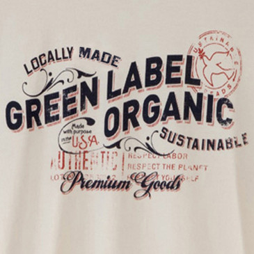 Men's Made in America Graphic T-Shirt - Made With Purpose Wheat
