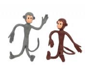 Bendy Monkey