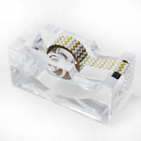 Lucite   Acrylic Tape Dispenser
