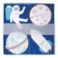 Space Valentine Card Set