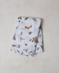 Baby Swaddle Forest Friends