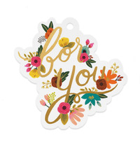 Mint Floral For You Gift Tags