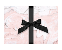 Blush Marble Wrapping Paper