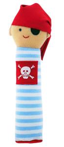 Pirate Squeaker- Pale Blue