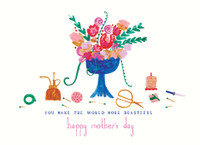 Flowers For You Mothers Day Card