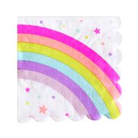 Rainbow Paper Napkins