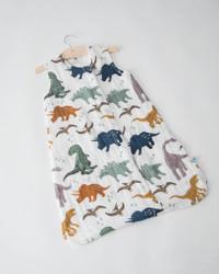 Cotton Muslin Sleep Bag Medium- Dino Friends