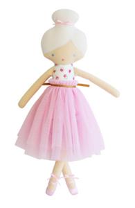 Amelie Ballet Doll- Pink Roses
