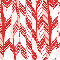 Candy Cane Napkins