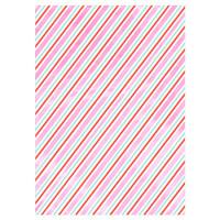 Iridescent Stripe Gift Wrap Roll