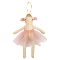 Ballerina Mouse Tree Decoration