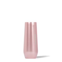 8oz Corkcicle Champagne Flute- Rose Metallic
