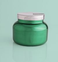Volcano Metallic Green Signature Jar Candle- 19oz