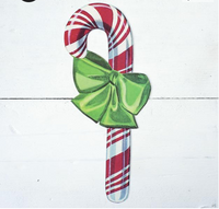 Candy Cane Table Accent- Pack of 12