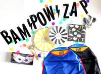 Bam Pow Zap Banner