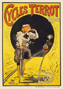 Cycles Terrot Poster
