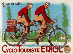 Cyclo-Touriste EROL Poster