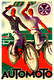 Automoto Art Deco Bicycle Poster by Maurice Lauro