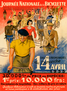 Journee Nationale Bicyclette Poster