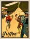Griffon Mountaintop Finish Poster