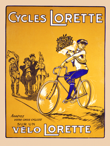 Cycles Lorette Poster