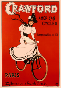 Crawford American Cycles Poster